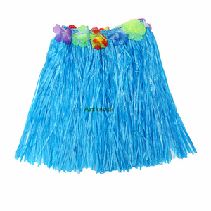 Image 4 - hawaii dekoration Petal Leis Party Beach Flower hawaiian Dress Necklace wreath hawaiian party decorations