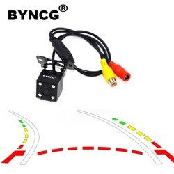 Wspomaganie parkowania wyświetlacz tyłu samochodu wsteczna kamera cofania Autotrack CCD Backup 170 stopni de re para auto night vision|Kamery pojazdowe|Samochody i motocykle -