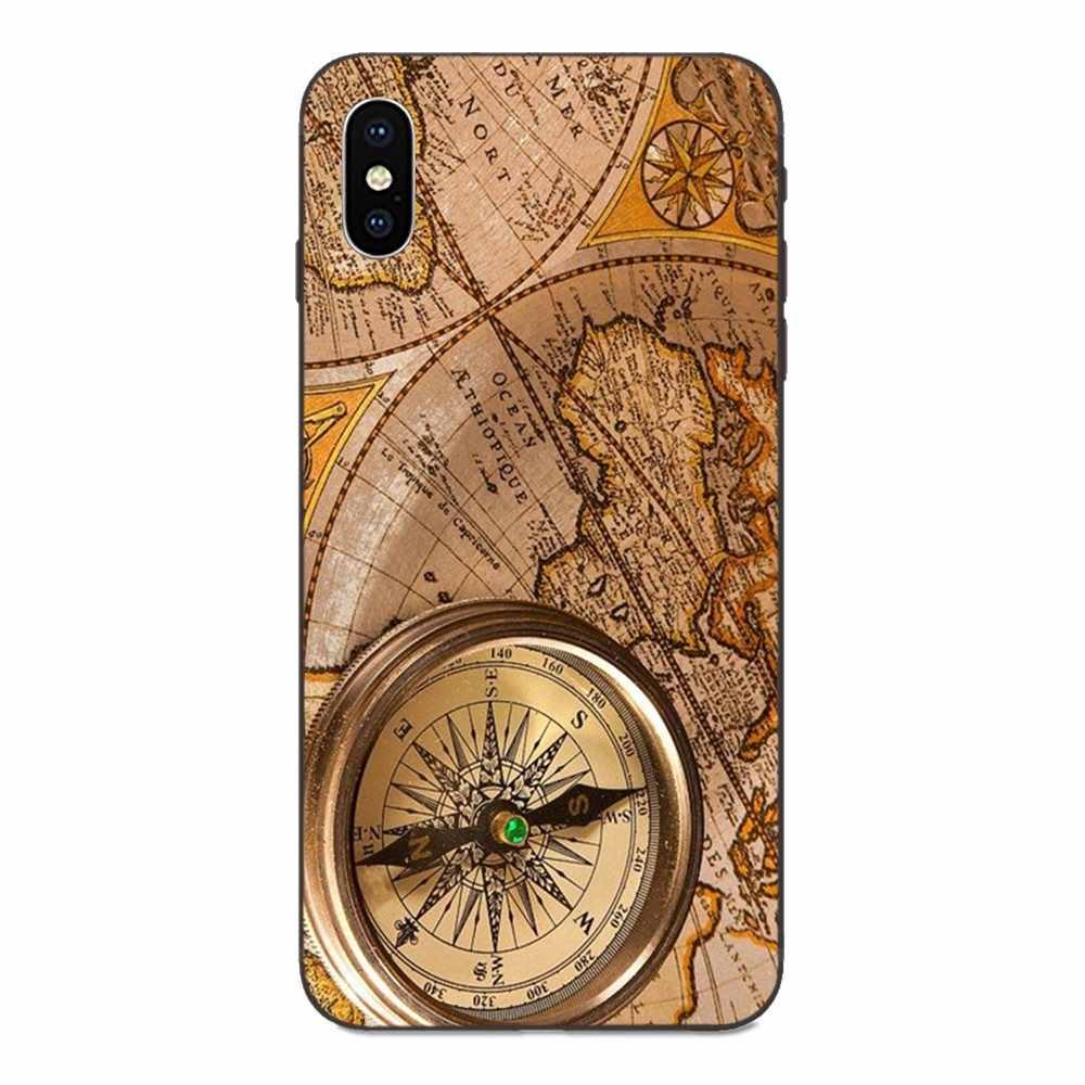 California Kompass Beliebte Für Apple iPhone 4 4S 5 5S SE 6 6S 7 8 Plus X XS Max XR TPU Schutzhülle Fall
