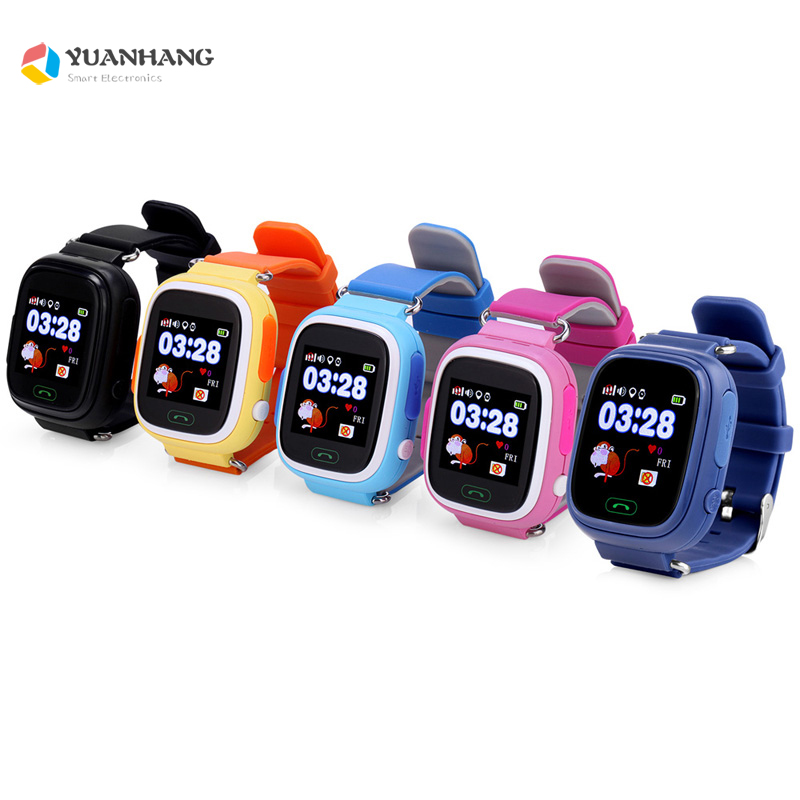 Smart Remote SOS Call Safe <font><b>GPS</b></font> WIFI LBS Location Finder Tracker Anti-Lost Monitor Watch Wristwatch for Kids Child <font><b>Q90</b></font> PK Q750 image