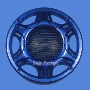 """Image 1 - Für 6,5 """"zoll Auto Audio Lautsprecher Umwandlung Net Abdeckung Subwoofer Dekorative Kreis Metall Mesh Grille 165mm # Blau"""