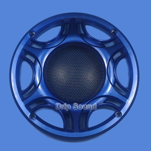 """Für 6,5 """"zoll Auto Audio Lautsprecher Umwandlung Net Abdeckung Subwoofer Dekorative Kreis Metall Mesh Grille 165mm # Blau"""