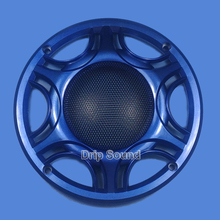 "For 6.5"" inch Car Audio Speaker Conversion Net Cover Subwoofer Decorative Circle Metal Mesh Grille 165mm #Blue"