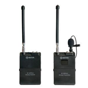 Image 1 - BOYA BY WFM12 12CH ไร้สาย VHF ไมโครโฟนไร้สายไมโครโฟนระบบตัวรับสัญญาณสำหรับกล้อง DSLR Canon Camcorder