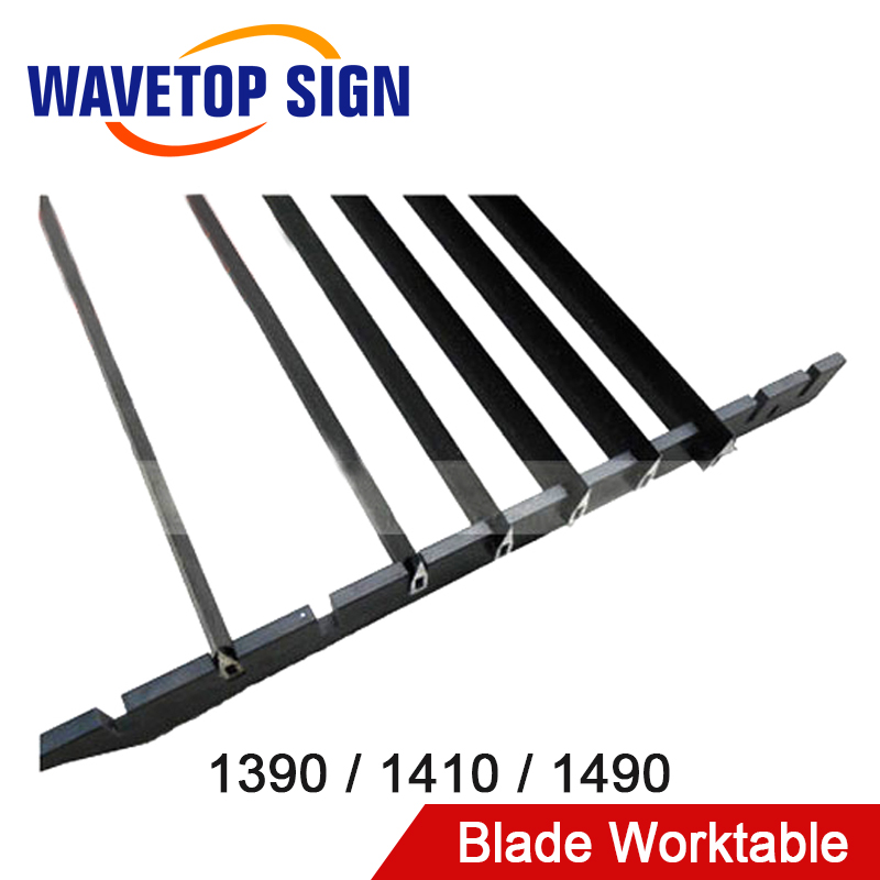 WaveTopSign Knife Knife Table Platform Bracket Blade Worktable 1390 1410 1490 For Laser Engraving Cutting Machine