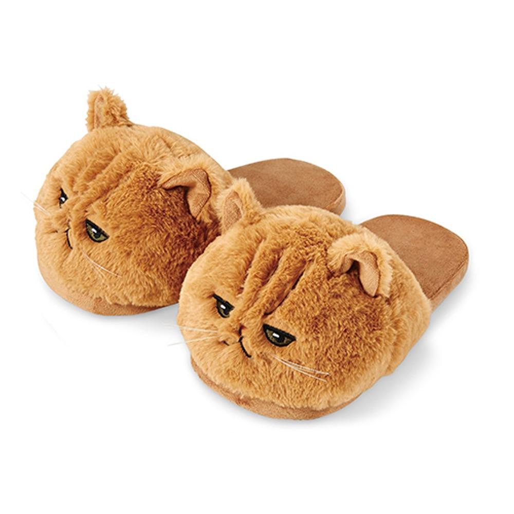 Cat Plush Slippers 2