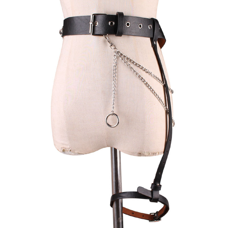 2020 New Design Waistband Hip Pop All-match Fashion Wide Belt Trendy Punk Style Belts For Women PU Female Leg Belt Stylish ZK511