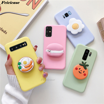 3d-cute-cartoon-cookies-phone-case-for-samsung-galaxy-s6-s7-edge-s8-s9-s10-s20-plus-ultra-note-5-8-9-10-lite-cover