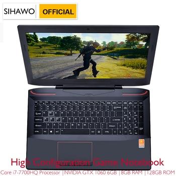 "15.6"" Intel Core i7-7700HQ NVIDIA GTX1060 Dedicated Graphics Windows 10 8GB RAM 512GB SSD Game Laptop Backlit Keyboard Notebook 1"