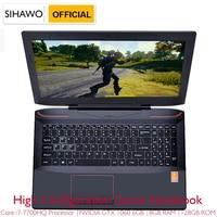 15.6 Intel Core i7 7700HQ NVIDIA GTX1060 Dedicated Graphics Windows 10 8GB RAM 512GB SSD Game Laptop Backlit Keyboard Notebook