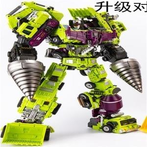 Image 1 - Transformation oversize ko gt  JinBao Devastator figure toy