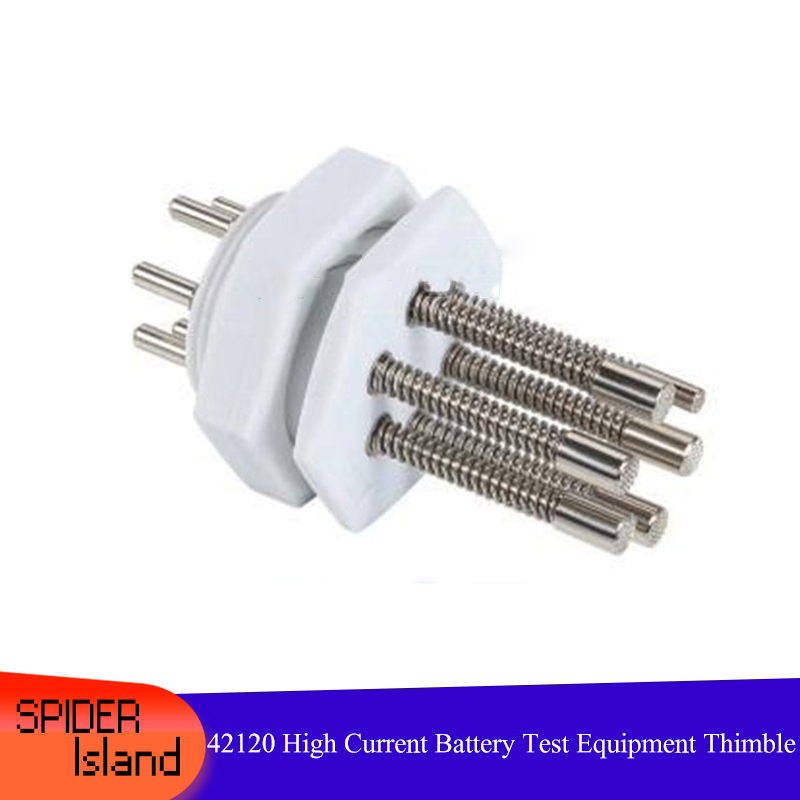50pcs /lot 42120 High Current Thimble Needle 60A <font><b>38120</b></font> Battery Test Equipment Needle 60 A Battery Thimble Battery Probe Needle image