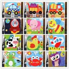 Детские игрушки Монтессори Деревянные головоломки/Морские животные головоломки мультфильм набор аниме образование деревянная игрушка мультфильм автомобиль/детские игрушки подарок