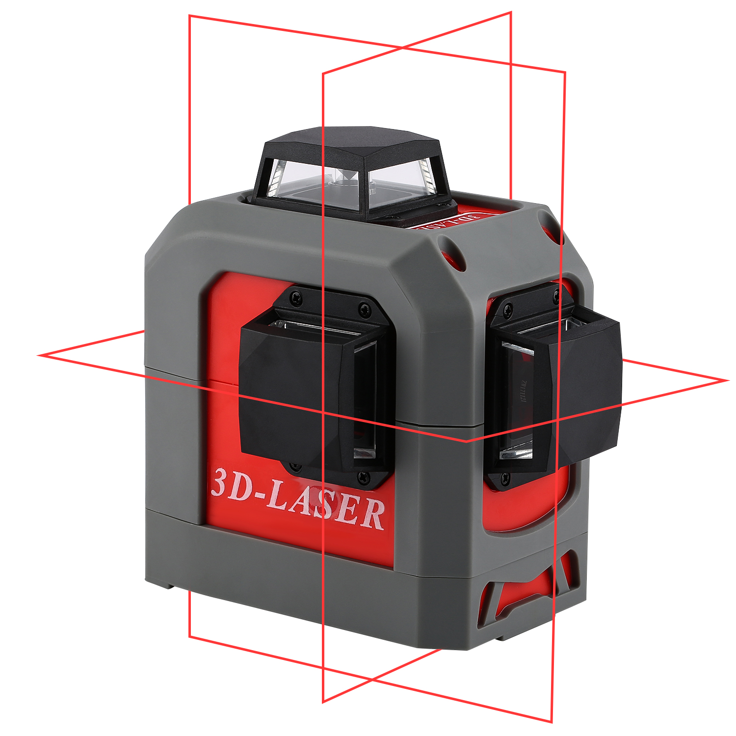 woodworking suspension line 360 3D laser measuring instrument tripod automatic leveling support device Red line rotor of