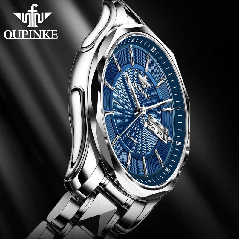 남자 시계 2020 럭셔리 남자 기계식 손목 시계 빛나는 클래식 자동 시계 남자 비즈니스 일본 운동 시계