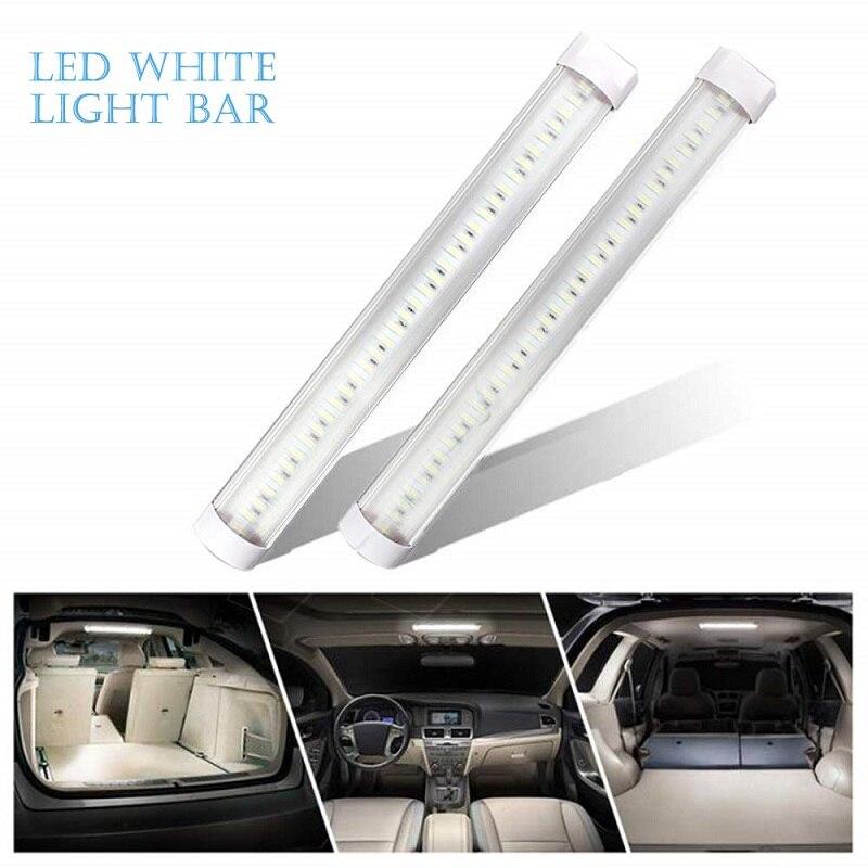 1 Pair Truck Light Strip Interior Lights Lamp Strip Bar Universal For Car Camper Van Bus 12V