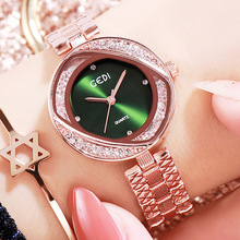 Bracelet Watch Rhinestone Quartz Diamond Stainless-Steel Reloj Ladies Luxury Brand Fashion