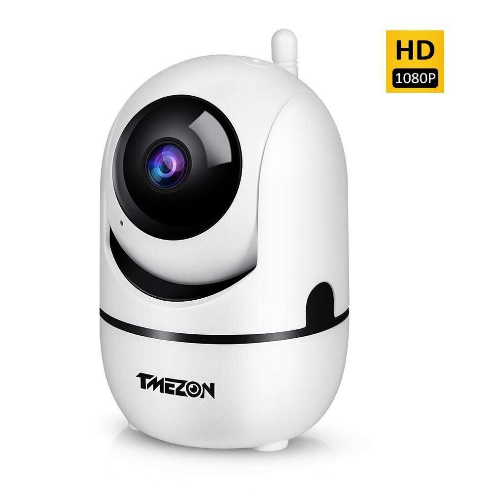 TMEZON 1080P HD Monitor Do Bebê Sem Fio Wi-fi 2.0MP Rede IR CCTV Câmera de Vigilância de Segurança Em Casa com Two-way câmera IP áudio