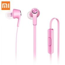 New Xiaomi Earphone earbuds for XIAOMI Redmi Mi Pink Earphone 3.5MM In-Ear Wired