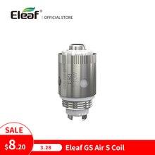 5 قطعة/الوحدة الأصلي Eleaf GS الهواء S 1.6 أوم رئيس ل iTap MTL السجائر الإلكترونية لفائف رئيس