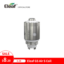 Eleaf Cabezal de bobina de cigarrillo electrónico, 1,6 ohm, para iTap MTL, 5 unidades/lote, Original, GS Air S