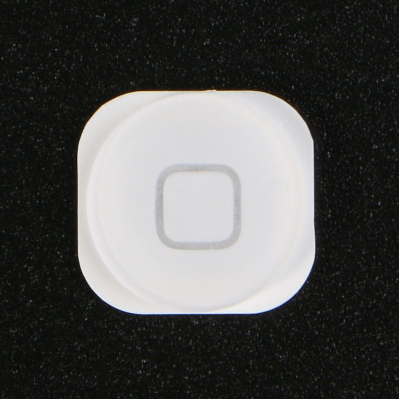 Home Menu Button Replacement Return Key Cap Rubber Gasket Holder Repair Part For Apple IPod Touch 4