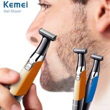啓明電気髭トリマーヘアトリマー usb 充電式シェーバー男性専門の脱毛器 1 刃髭クリッパーかみそり