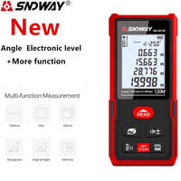 Sndway Nieuwe Smart Laser Afstandsmeter Laser Afstandsmeter Elektronische Roulette Digitale Heerser Trena Laser Meetlint Afstandsmeter