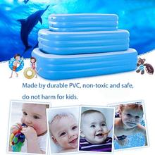 Kids inflatable Pool Inflatable Swimming Pool  Adults Kids Pool Bathing Tub  Large Size Square Swimming Pool Baby Home Use children multi layer bathing tub baby home paddling pool inflatable summer swimming pool kids inflatable pool ocean ball