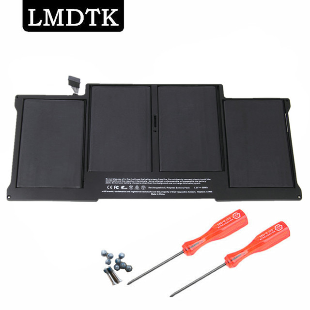 """LMDTK New Laptop Battery For Apple MacBook Air 13"""" A1466  A1369 2011 2012 2013 2014 Year Production Replace A1405 A1496"""