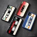 Ретро аудио кассеты в винтажном стиле, в стиле 80х, мягкий силиконовый чехол для мобильного телефона чехол для iPhone 6s 7 8 Plus X XR XS 11 12 mini Pro Max