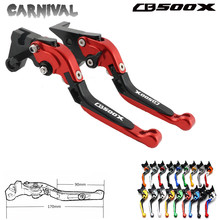 For Honda CBR500R CB500F CB500X CB 500X 500F CBR 500R 2013-2015 CNC Folding Clutch Brake Levers For Motorcycle for honda cbr500r cb500f cb500x cb 500x 500f cbr 500r 2013 2015 cnc folding clutch brake levers for motorcycle
