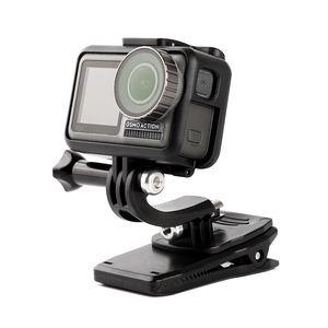 Image 3 - Быстроразъемный зажим для сумки Clownfish для камеры GoPro Hero 9 8 7 5 4 Session Xiaomi Yi 4K SJ4000/SJ8/9/SJ10 H9 Mijia, зажим для рюкзака