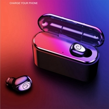 X8 Bluetooth 4.2 Wireless Earphone Mini Fast Charging Compartment In-Ear Headset For Iphone 7/8/X Plug Samsung Huawei