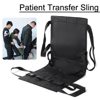 Patient Transfer Sling Seat Pad Medical Mobility Emergency Wheelchair Transport Belt Nursing Belts for Elder Disabled фото