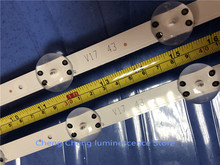 4Pieces/lot  FOR  LG43inch LCD TV backlight strip  43VH6100 CB 6916L 2867B 2867A 2867G V17 43   100%NEW