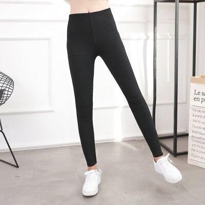 2020 NEW Autumn Women Pants Casual High Street Mid Waist Pants