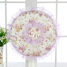 Fan Dust Cover Protection Case Baby Safety Fan Cover Useful Fashion Pastoral Non-woven All-inclusive Fan Dust Cover
