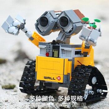 Lepining Star Series Wars 16003 The Robot WALL E 21303 687Pcs Ideas Model Building Kits Blocks Bricks Education Toys Christmas 2