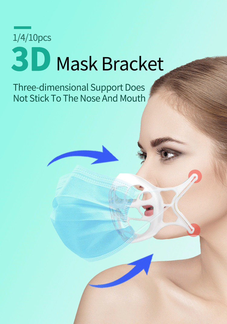 Silicone 3D Mask Bracket