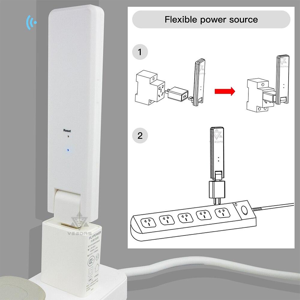 unidade transferencia dados monitoramento modem wifi para mi serie mi croinverter 05