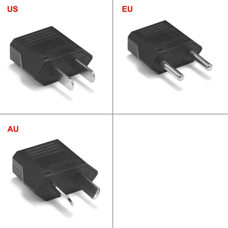 European Euro EU Plug Adapter 2 Pin US American China To Europe EU Travel Power Adapter Plug Outlet Converter Socket
