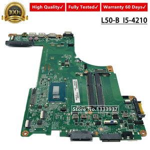 A000300080 For TOSHIBA SATELLITE L50 L50-B L55 SERIES LAPTOP MOTHERBOARD I5-4210U SR1EF DA0BLIMB6F0 notebook pc mainboard