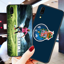 Phone Case For Porto FC Case Huawei P8 Case P9 P10 P20 P30 Black Soft TPU DIY Case For Porto FC Case Honor 9 V10 Y5 Y6 Y9 Y7 Y9