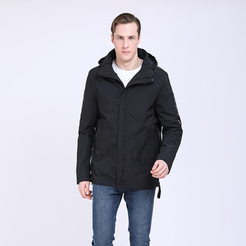 2020 New Men's Jacket and coats high quality  Solid Parka Brand Clothing  Spring Autumn Outwear Male Fashion Casual clothes