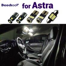 לבן טהור שגיאת משלוח LED מראה מנורה + LED trunk הנורה פנים מקורה מפת כיפת אור לאופל אסטרה H J K 2004  2012 2018