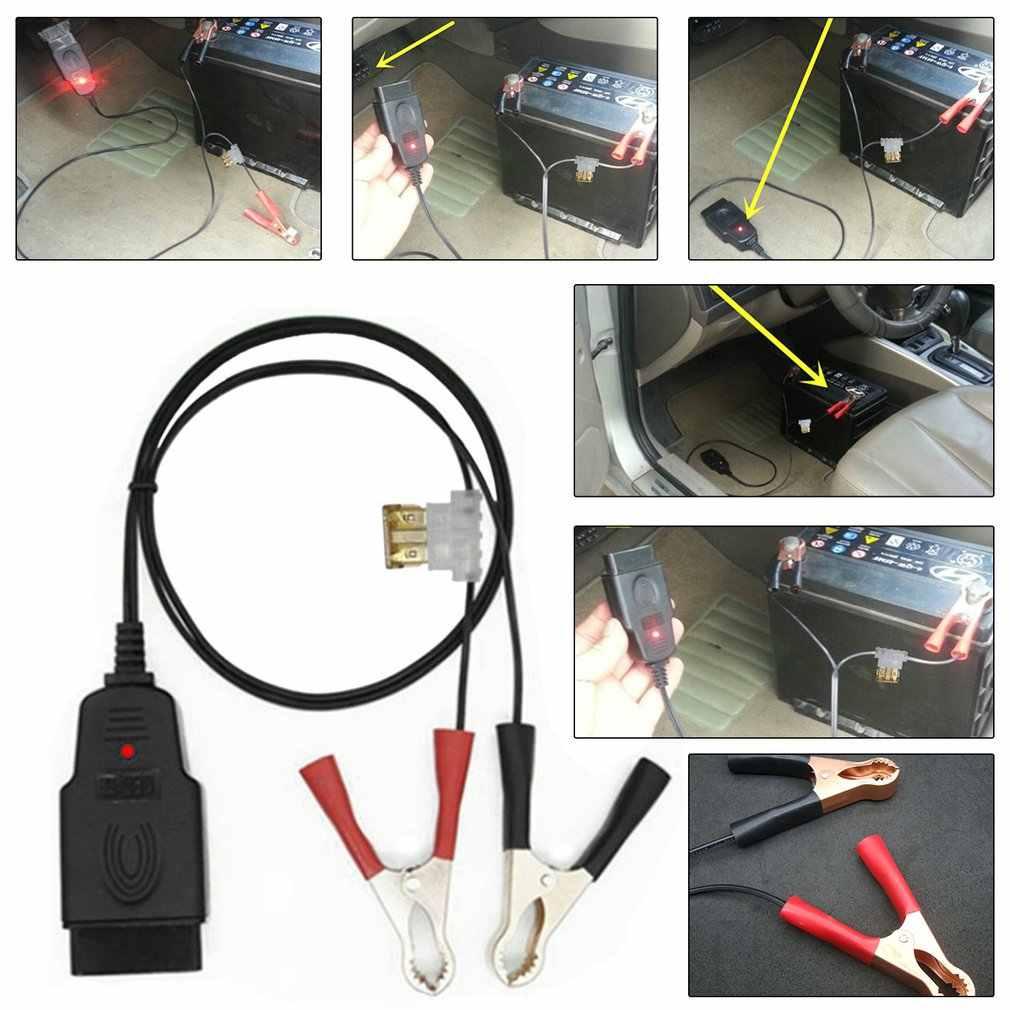 電気自動車のバッテリー交換ツールヘルパー自動コンピュータパワーオフメモリデバイス OBD 車診断 & コネクタツール