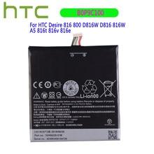 Bateria original b0p9c100 do polímero do li-íon 2600mah para htc desire 816 800 d816w d816 816w a5 816t 816v 816e bateria