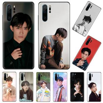 TFBOYS Jackson Yee Boy group cover funda coque Phone Case Funda For Huawei P9 P10 P20 P30 Lite 2016 2017 2019 plus pro P smart image