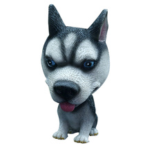 Car Ornaments Interior Accessories Nodding Dog Lovely Huskie Standing Posture Shakes Head Dog Decorations